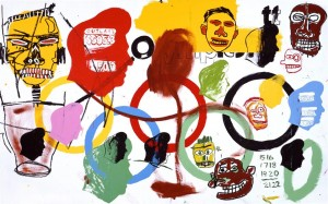 Olympics, 1984 Warhol Basquiat collaboration