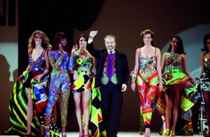 Gianni Versace and Supermodels 1991