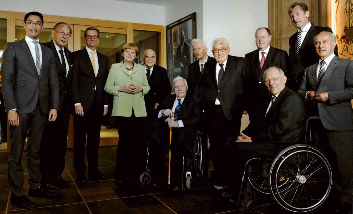 Henry Kissinger's 90th Birthday, Berlin, June 2013.