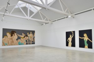 Alex Katz Exhibition: 45 YEARS OF PORTRAITS. 1969-2014, Paris Pantin 2014
