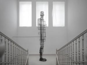 Antony Gormley Exhibition: Meter, Salzburg Villa Kast 2013 Foto: Ulrich Ghezzi