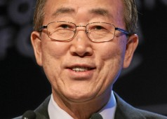 Time Is Running Out for Water: Ban Ki-moon