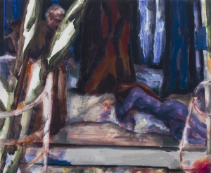 Kundry (Parsifal), 2012-2013, Oil on Panel, Copyright Elizabeth Peyton