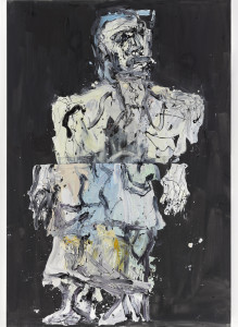 Georg Baselitz: Malermantel, Frank, 2014 Photo: Ulrich Gehzzi
