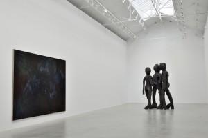 Georg Baselitz Exhibition: Le Côté Sombre, Paris Pantin 2013
