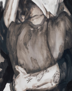 Vår, 2013, Oil on panel, Copyright Elizabeth Peyton