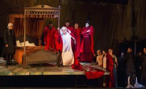 'Plácido Domingo as Francesco Foscari (© Herwig Prammer/ Theater an der Wien, 2014)