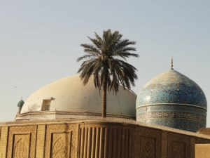 The Baghdad shrine of Abdul Qadir Gilani.