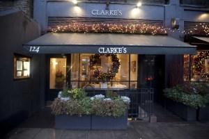 Clarkes Restaurant Exterior