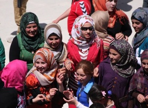 Jordanian schoolchildren