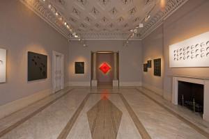 The R +V gallery, Paolo Scheggi exhibition, October 2014.