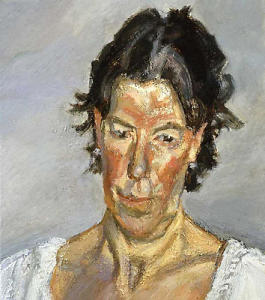 Sally Clarke by Lucian Freud