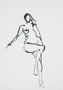 Tracey Emin The Last Great Adventure Is You White Cube Bermondsey London 8 October - 16 November 2014 Courtesy White Cube The Legs