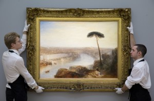 Turner and Sotheby's Technicians, Courtesy, Sotheby's