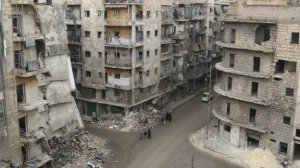 Aleppo - Syria's second-largest city - has suffered massive damage after years of war.