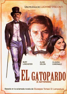 Poster for Visconti Film of The Leopard