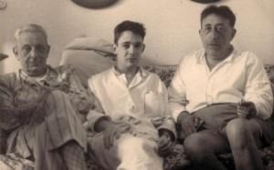 Lampedusa, Gioacchino (aged 21) & Lucio Piccolo, 1955