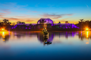 The Palm House. Kit Fanner On Location Events. Photo:RBG Kew