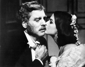 Burt Lancaster and Claudia Cardinale in The Leopard