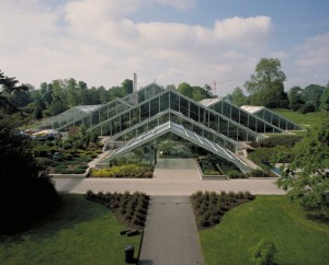 The Princess of Wales Conservatory. Photo:RBG Kew.