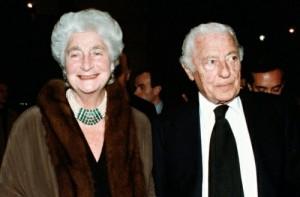 Susanna Agnelli and Gianni Agnelli