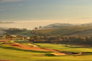 Rosewood Castiglion del Bosco, Golf Course Landscape