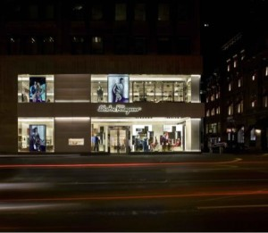 New York Flagship store on Fifth Avenue.