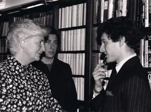 Susanna Agnelli, Edoardo Teodorani, Alain Elkann.