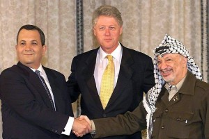 Barak, Clinton and Arafat