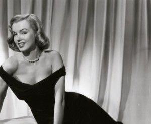 Marilyn Monroe, from a publicity shot for The Asphalt Jungle, 1950.