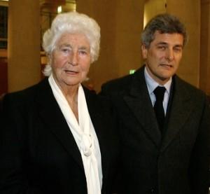 Susanna Agnelli & Alain Elkann, 2003