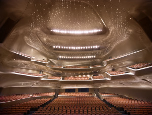 Guangzhou Opera House, China. Photography by Virgile Simon Bertrand.
