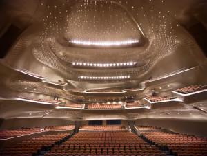 Guangzhou Opera House, China. Photography by Virgile Simon Bertrand.