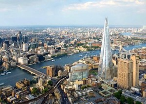 The Shard in London, by Renzo Piano.