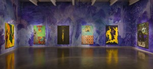 """Chris Ofili: Night and Day"" Photo by Maris Hutchinson/EPW All artworks © Chris Ofili. Courtesy David Zwirner, New York/London"