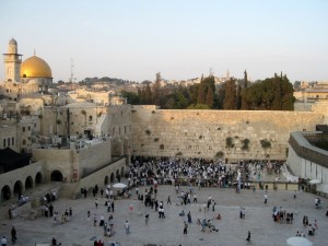 The Western or Wailing Wall, Jerusalem