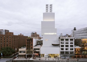 An exterior view of the New Museum. Photo: Dean Kaufman