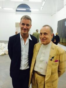 Lorcan O'NEILL & Luigi ONTANI - Rome 4 July 2014 - Galleria Lorcan O'Neill