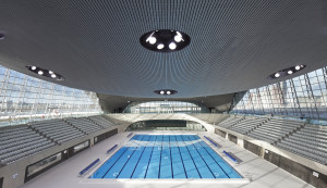 The 2012 London Aquatics Centre. Photographers Hufton + Crow.