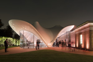 The Serpentine Sackler Gallery, London UK. Photography by Luke Hayes.