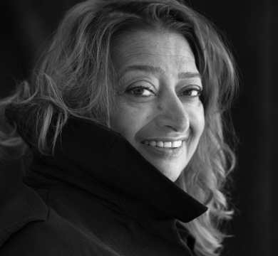 Zaha Hadid at the Royal Academy of Arts