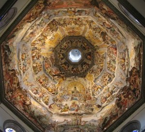 Dome of the church of Santa Maria del Fiore, Florence, Italy
