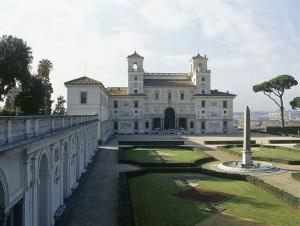 Villa Medici, Rome. Home of the French Academy since 1803.