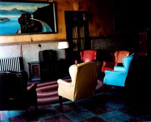 Lounge Painting # 2, Gila Bend, Arizona, 1983, WW