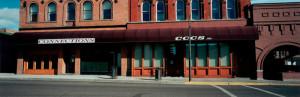 Street Front in Butte, Montana, 2000, WW