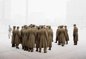On Alexanderplatz, Berlin, 1992, WW