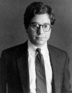 Timothy Greenfield-Sanders portrait of Jeffrey Deitch 1983
