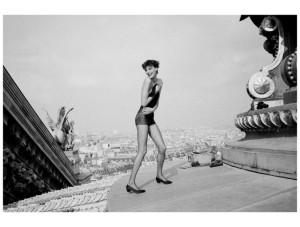 Inès De La Fressange, 1984, Paris. Photo Arthur Elgort