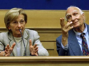 Emma Bonino and Marco Pannella