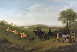 Stubbs: Racehorses Exercising